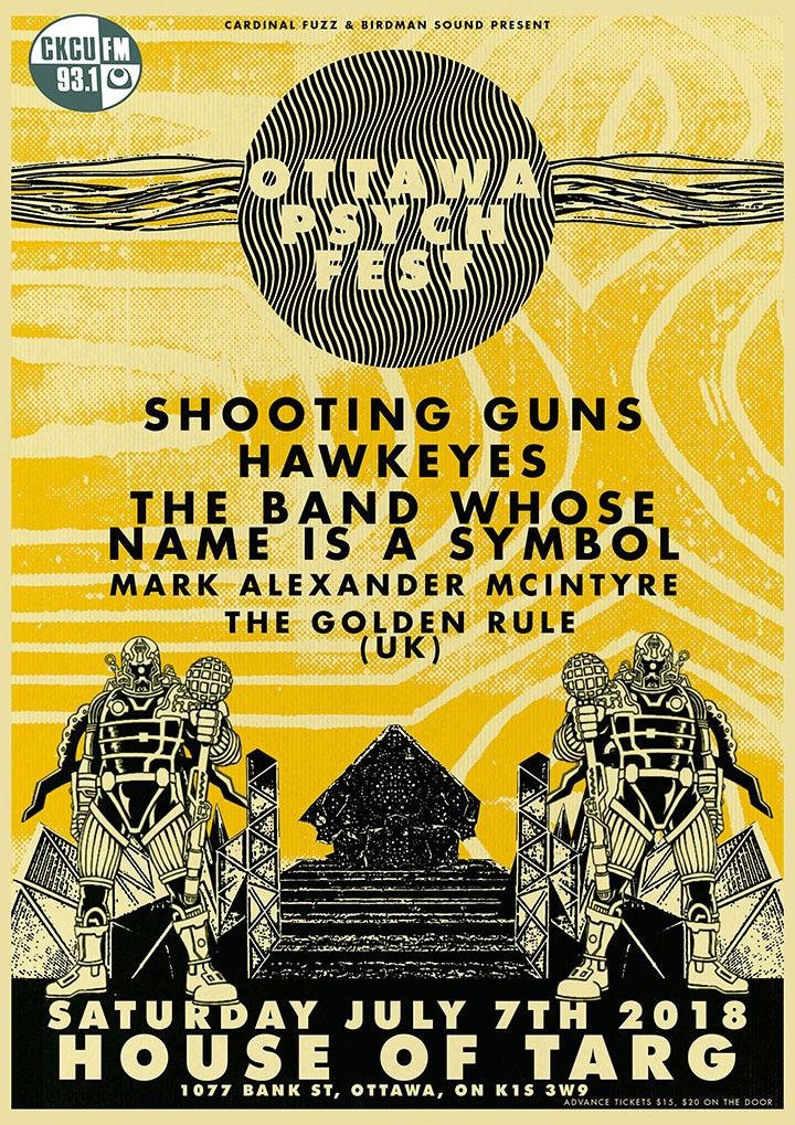 Ottawa Psych Fest Slated For Saturday July 7th Ckcu Fm 931